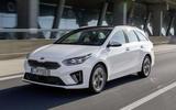 Kia Ceed Sportswagon PHEV 2020 first drive - hero front