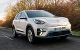 1 kia e niro 39kwh 2021 uk first drive review hero front