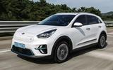 Kia Niro EV 2019 first drive review hero front