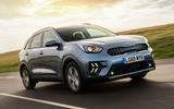 Kia Niro PHEV 2020 UK first drive review - hero front