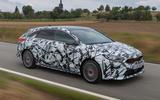 Kia Proceed GT 2018 prototype drive hero front