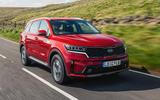 Kia Sorento hybrid 2020 UK first drive review - hero front