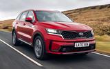 1 Kia Sorento PHEV 2021 UK first drive review hero front