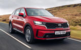 1 kia sorento phev 2021 uk first drive review hero front