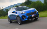 Kia Sportage GT-Line S 48V 2018 first drive review hero front