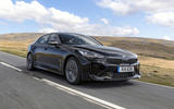 Kia Stinger 2.2 CRDi 2018 UK review hero front