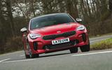 1 Kia Stinger GT S 2021 UK review hero front