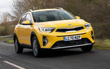 1 Kia Stonic 48v 2021 UK first drive review hero front