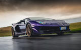 Lamborghini Aventador SVJ 2018 UK first drive review - hero front