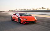 Lamborghini Huracan Evo 2019 first drive review - hero front
