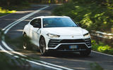 Lamborghini Urus 2018 UK first drive review hero front