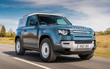 1 Land Rover Defender Hard Top Commercial 90 UK FD hero front