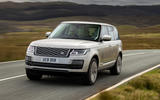 Land Rover Range Rover D300 2020 UK first drive review - hero front