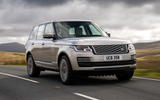 Land Rover Range Rover D350 mild hybrid 2020 UK first drive review - hero front