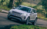 1 land rover range rover evoque 2021 road test review hero front