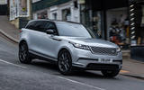 1 Land Rover Range Rover Velar PHEV 2021 UK first drive review hero front