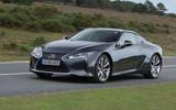 1 Lexus LC500 2021 UK FD hero front