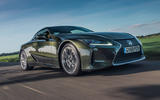 Lexus LC 500 Limited Edition 2020 UK first drive review - hero front