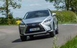Lexus RX 450hL 2018 review hero front