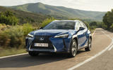 Lexus UX300e 2020 UK first drive review - hero front