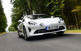 Litchfield Alpine A110 2018 UK review - hero front