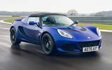 1 Lotus Elise Sport 240 Final Edition 2021 UK first drive review hero front