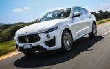 Maserati Levante Gransport 2018 UK first drive review hero front