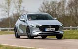 1 Mazda 3 e Skyactiv X 2021 UK fd hero front