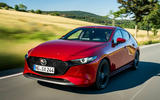 Mazda 3 Skyactiv-X 2019 first drive review - hero front