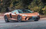 McLaren GT 2019 UK first drive review - hero front