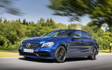 Mercedes-AMG C63 2018 first drive review hero front