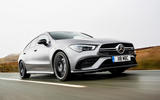 Mercedes-AMG CLA 35 Shooting Brake 2020 UK first drive review - hero front