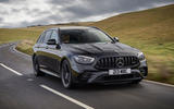 1 Mercedes AMG E52 2021 UK first drive review hero front