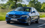 1 Mercedes Benz C Class C300e 2021 review hero front