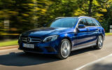 Mercedes-Benz C-Class C 300de estate 2018 first drive review - hero front