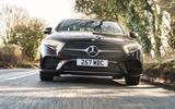 Mercedes-Benz CLS 450 2018 UK review hero front
