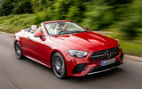 Mercedes-Benz E-Class e450 Cabriolet 2020 UK first drive review - hero front