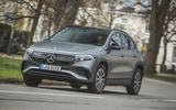 1 mercedes benz eqa 2021 uk first drive review hero front