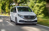 1 Mercedes Benz EQV 2021 LHD first drive review hero front