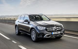 Mercedes-Benz GLC 220d 2019 UK first drive review - hero front