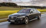 Mercedes-Benz S Class S580e 2020 first drive review - hero front
