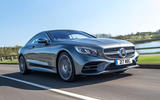 1 mercedes benz s560 coupe 2018 uk review hero front