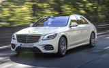 Mercedes-Benz S-Class S560e 2018 first drive review - hero front