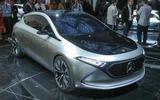 Mercedes EQA - static front