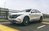 Mercedes-Benz EQC 400 2019 UK first drive review - hero front