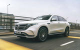 Mercedes-Benz EQC 400 2019 UK first drive review - tracking front