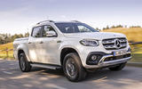 Mercedes-Benz X-Class X350d 2018 first drive review hero front
