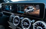 Mercedes-Benz infotainment screen 2020