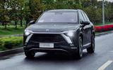 1 Nio ES8 European spec 2021 first drive hero front