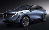 Nissan Ariya concept 2019 - static front